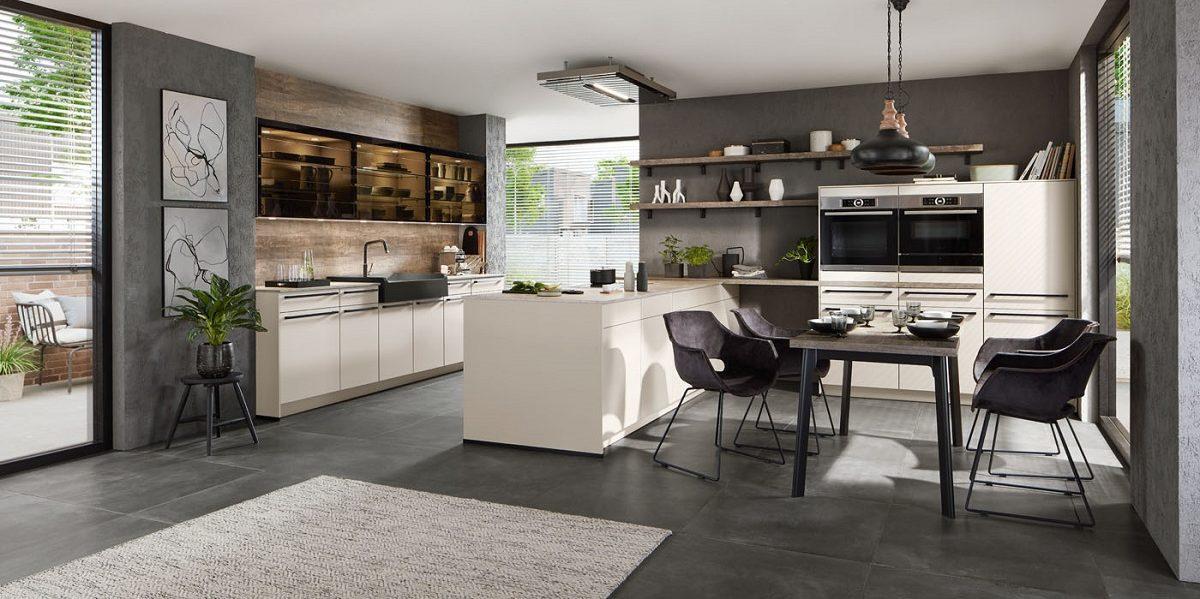 Designküche Easytouch nobilia