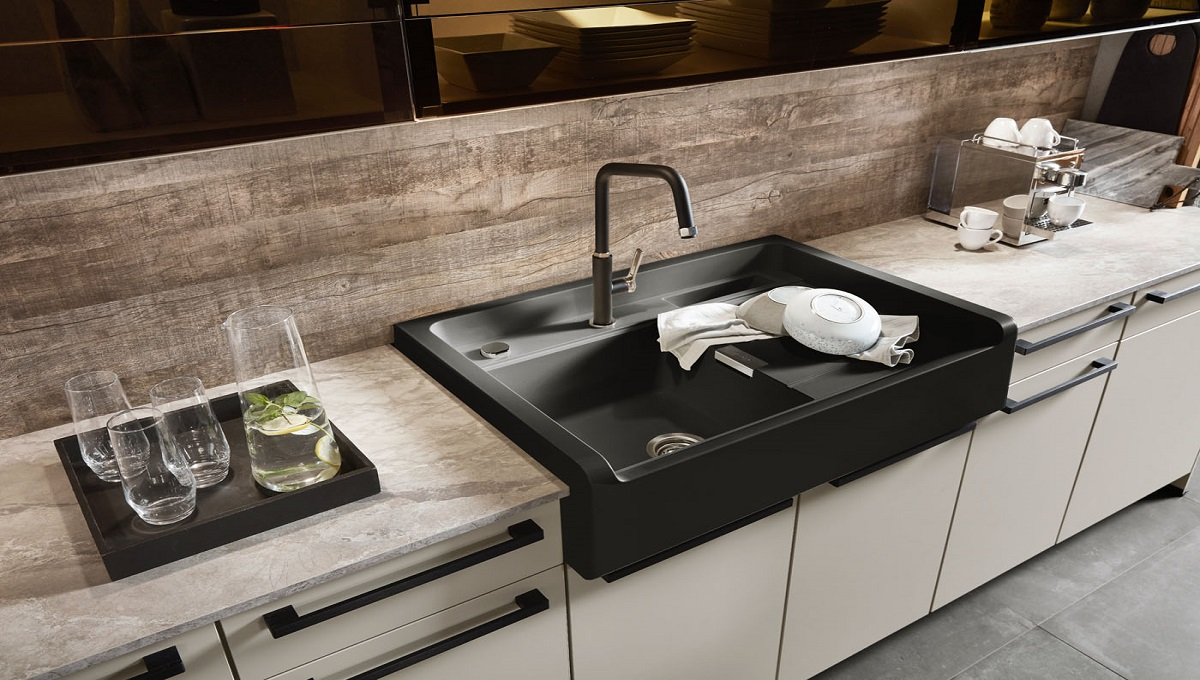 Küche Easytouch mit Anti-Finger Print, nobilia