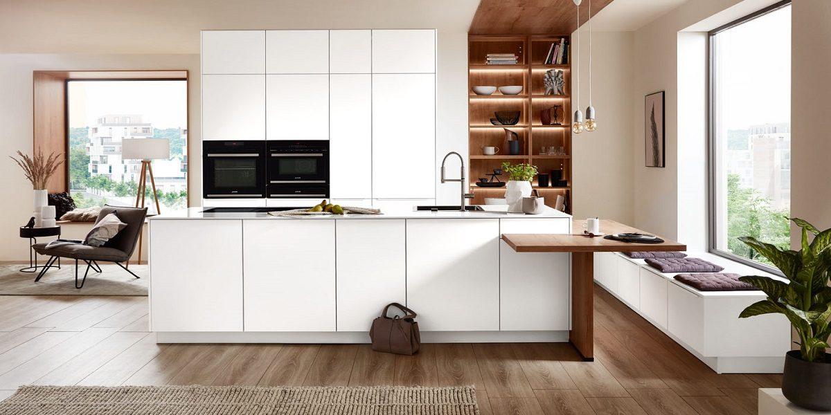 Einbauküche mit Regale Easytouch, nobilia