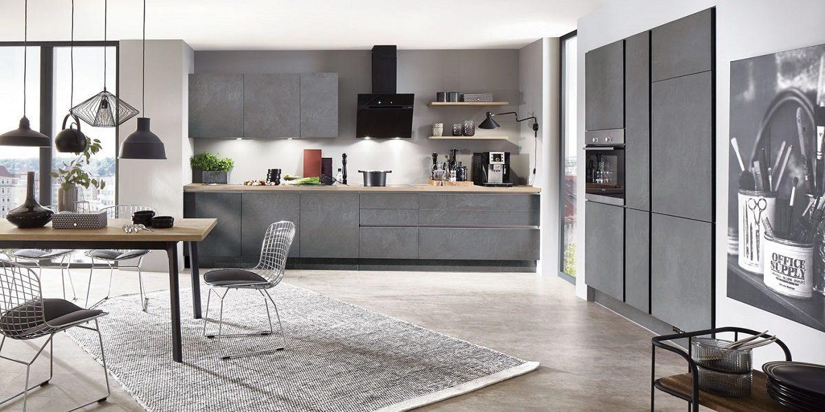 Trend-Küche StoneArt in Stein-Optik nobilia