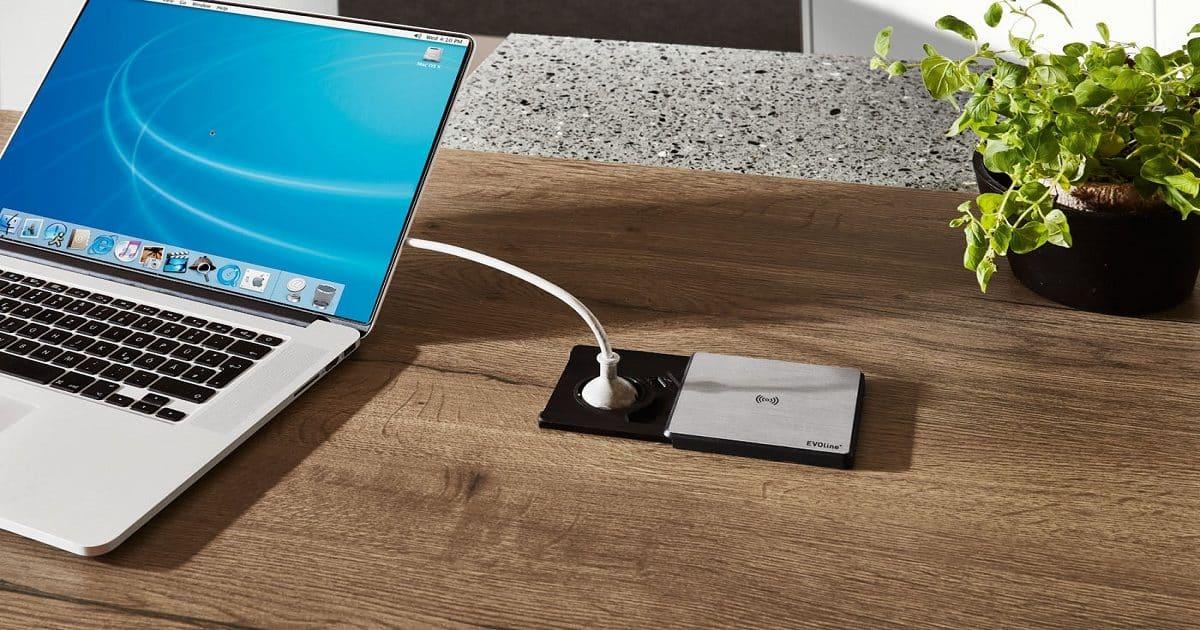 Evoline Steckdose mit USB-Charger, nobilia