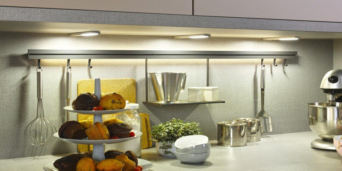 Beleuchtung der Küche, Burger