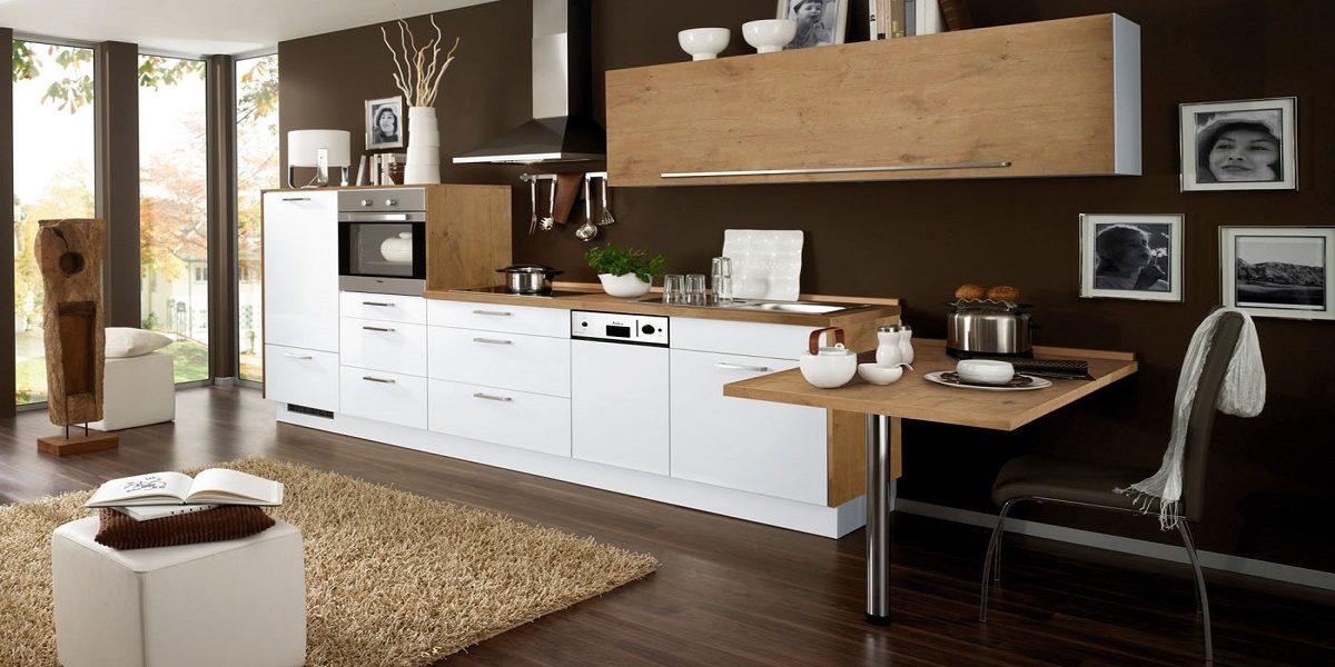 Weiße Küchenzeile Diana Burger