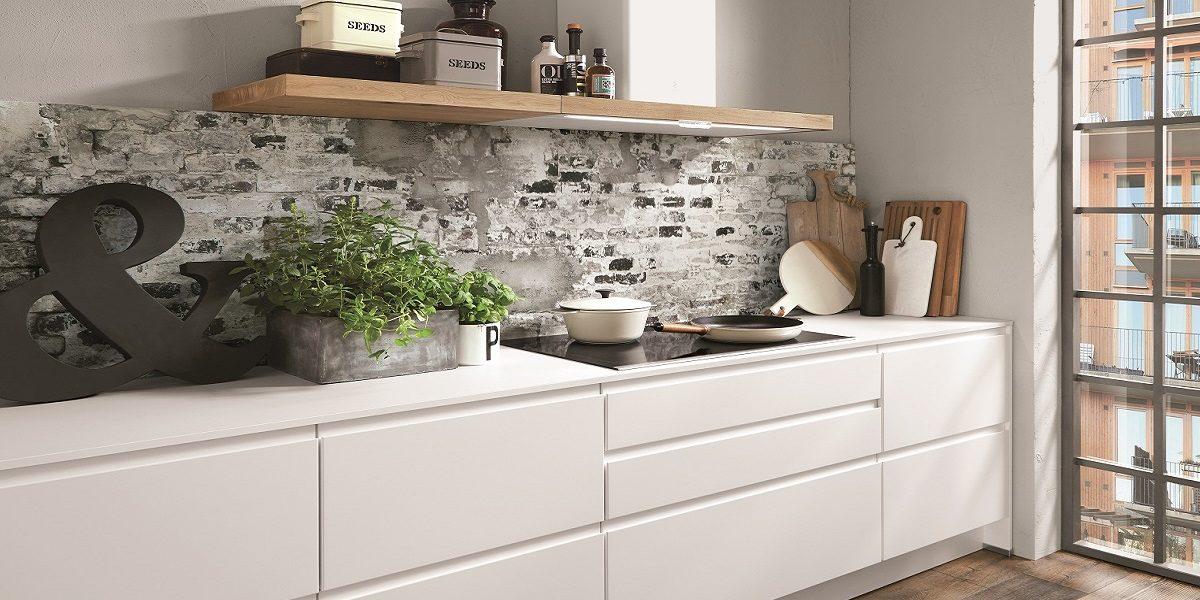Grifflose Küche Inline, nobilia