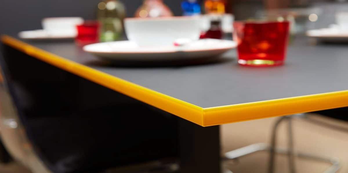 Küche Lisa mit Licht Neon Kante, Burger